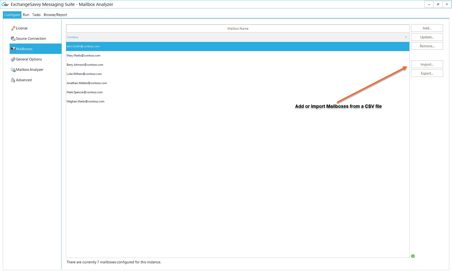 Mailbox Analyzer 3